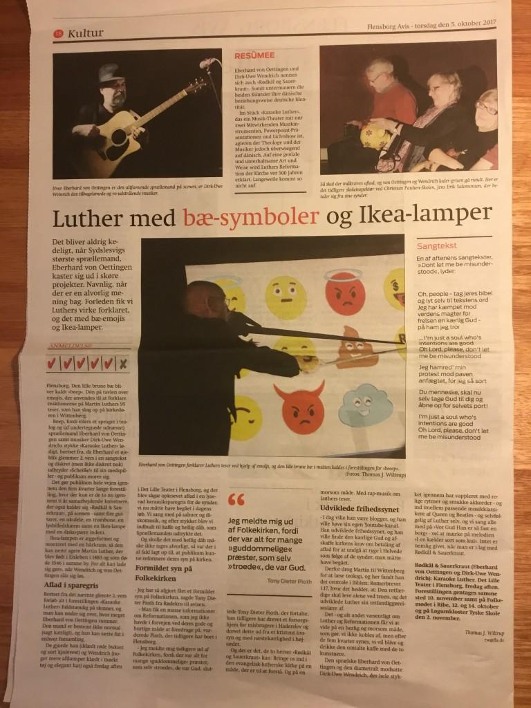 Anmeldelse- Flensborg Avis